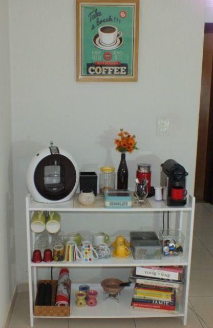 decoração estante