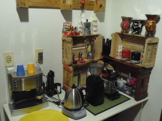 cantinho do caf decorado  o montar e 60 fotos lindas