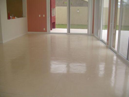 cimento queimado branco chão