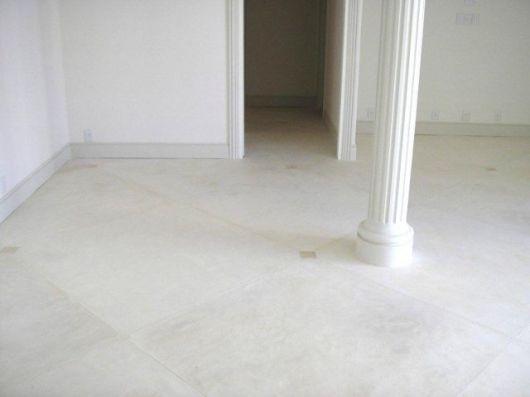 cimento queimado branco colunas