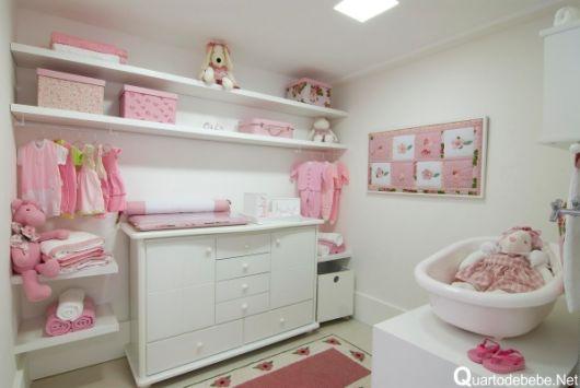 closet com banheiro bebê