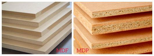 diferença entre MDF e MDP