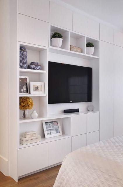 quarto planejado com TV