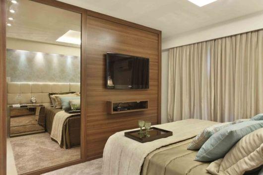 quarto planejado madeira