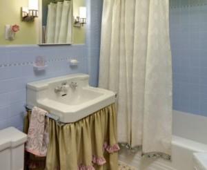 dicas de modelos de cortina de pia de banheiro