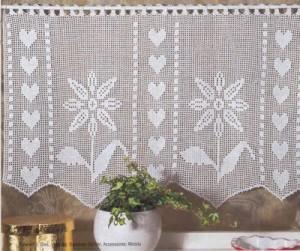 cortina para janela de banheiro artesanato