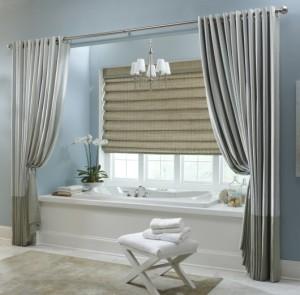 fotos de cortina para janela de banheiro