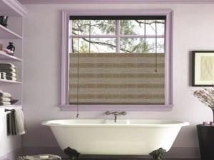 persiana de bambu para banheiro