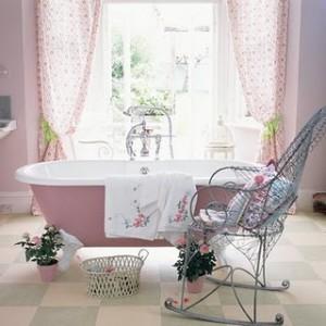 modelos de cortina para janela de banheiro
