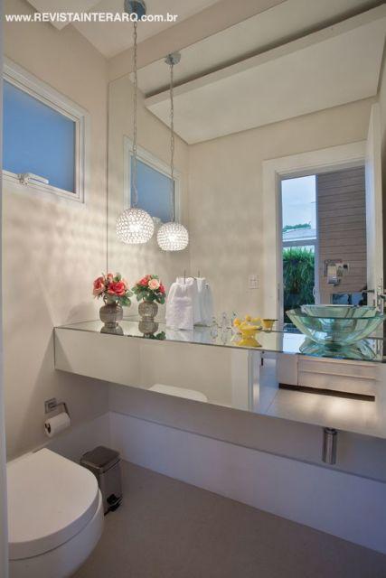 Cuba de vidro modelos, onde comprar e preço! -> Cuba Banheiro Transparente