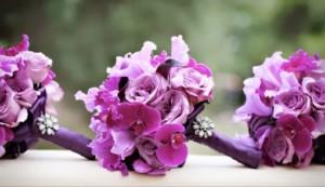 decoração com orquídea buquê de noiva