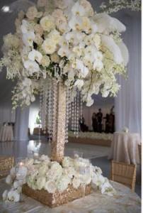 decoração com orquídea para casamento