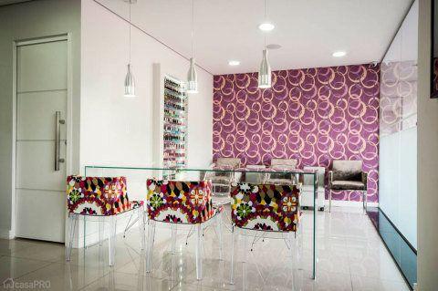decoração sala manicure
