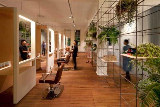 decoração rústica com plantas