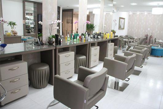 decoração salão de cabeleireiro