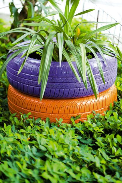 jardim simples decoração