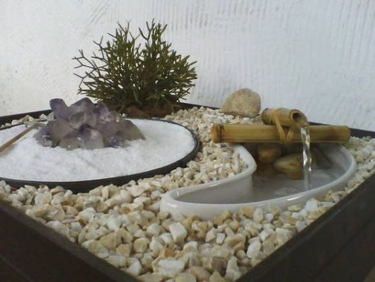 Mini jardim japonês