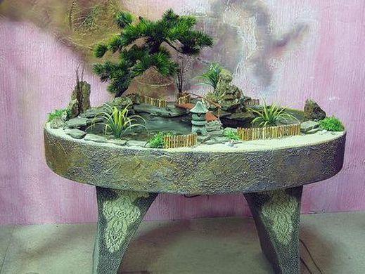 montar um jardim japonês e viu várias inspirações e ideias para