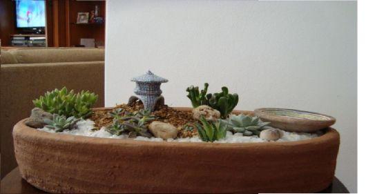 decoração em miniatura