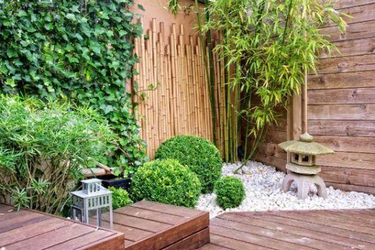 jardim externo pequeno