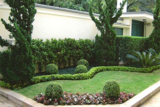 jardim com buchinhos