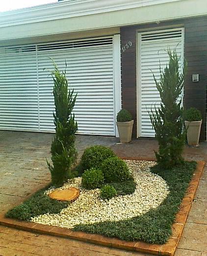 jardim pequeno decoraado