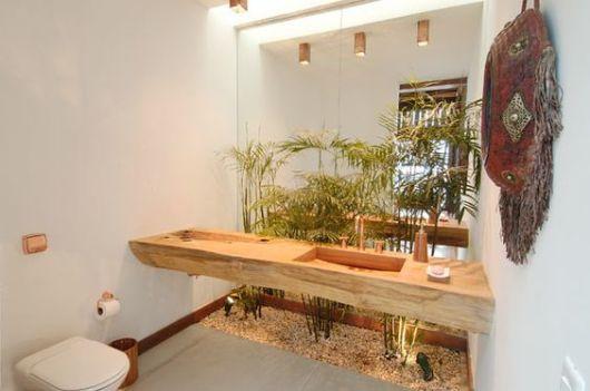 decoração com bambus