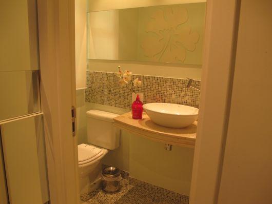 banheiro social pequeno