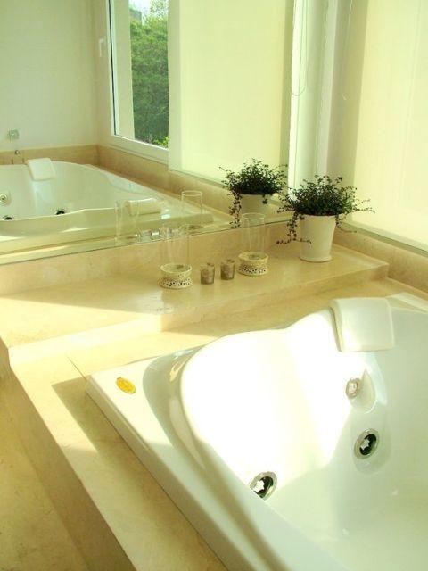 decoração espaço banheira