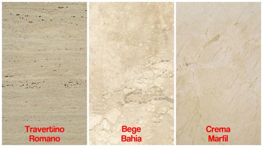 tipos de mármore bege