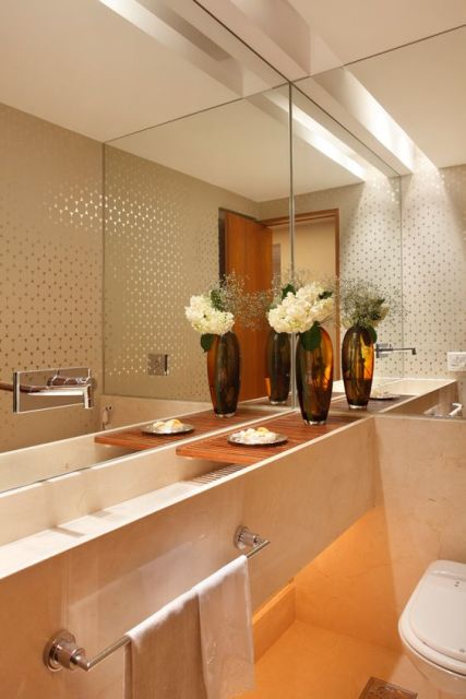 lavabo pequeno e moderno