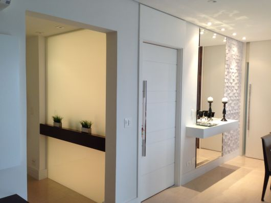 espelho parede sala