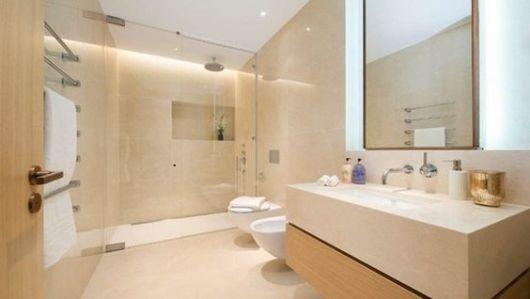 M rmore crema marfil mancha onde e como usar - Como alicatar un cuarto de bano ...