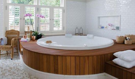 deck madeira banheiro