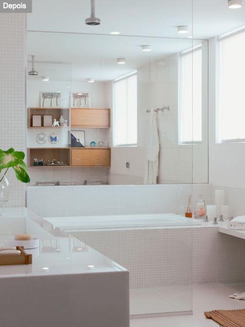 8 Modelos de Banheiras Com Dicas e Preços! -> Banheiro Medio Com Banheira