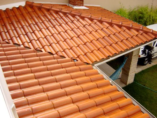 telhado em L