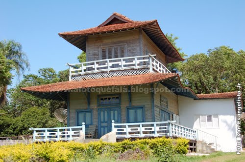 telhado japonês