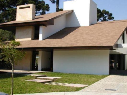 65 modelos de telhados guia completo para a cobertura da for Casa moderna revit