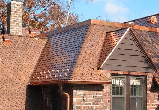 casa com telha germânica