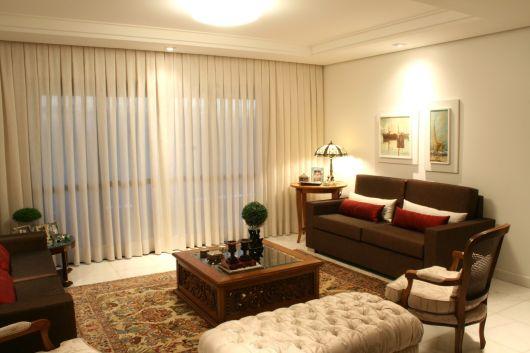 decoração clássica sala