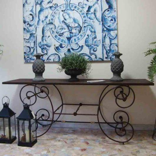Armario De Cozinha De Madeira ~ Móveis de ferro estilos e como usar na decoraç u00e3o!