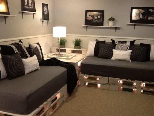 decoração sala com reaproveitamento