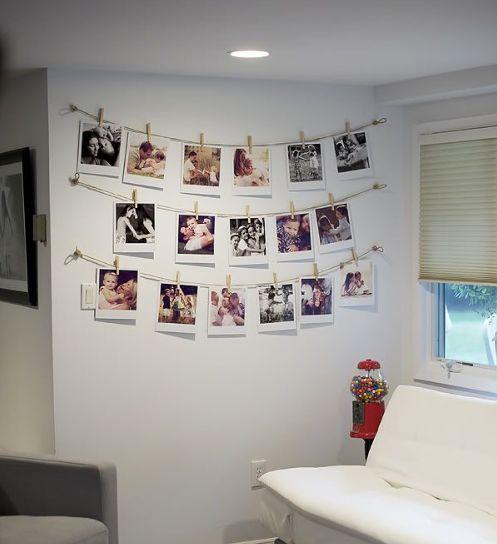 Mural de fotos 72 ideias incr veis e lindas for Mural una familia chicana