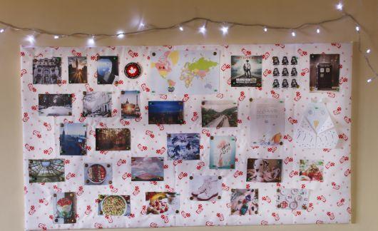 Mural de fotos 72 ideias incr veis e lindas for Mural de isopor e eva