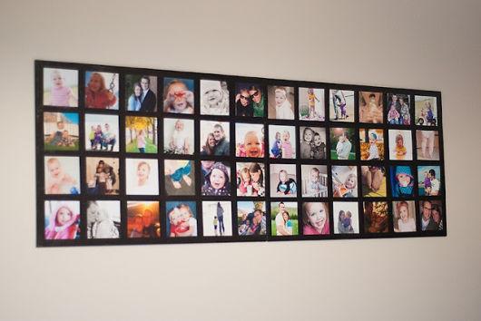 Mural de fotos 72 ideias incr veis e lindas for Aviso de ocasion mural