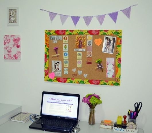 home office simples decorado