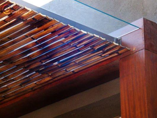 pergolado de bambu réguas de bambu