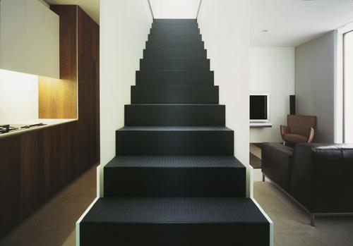 escada emborrachada
