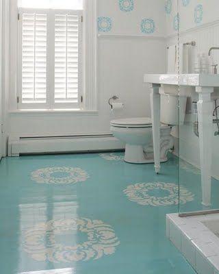 Porcelanato l quido ep xi 80 inspira es dicas e tudo for Paint over vinyl floors