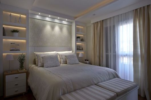Prateleiras para quarto 77 ideias lindas para a decoração! ~ Fotos De Gesso Quarto